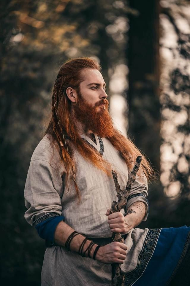 Tibor Pusch In 2019 Viking Beard Beard Tips Viking Hair