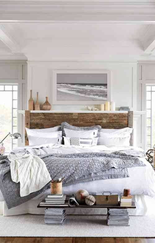 chambre et déco de style bord de mer
