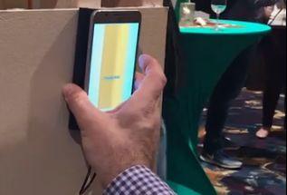 Υπάρχει ένα gadget που χρησιμοποιεί έναν αισθητήρα 3D απεικόνισης για να δει μέσα από τοίχους