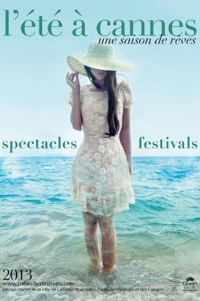L'été à Cannes - Affiche 2013 - © Ville de Cannes