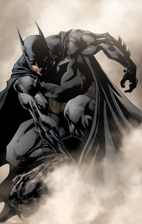 A Foggy Night & A Dark Knight #batman #comic #DC . Pin and follow @Pyra2elcapo