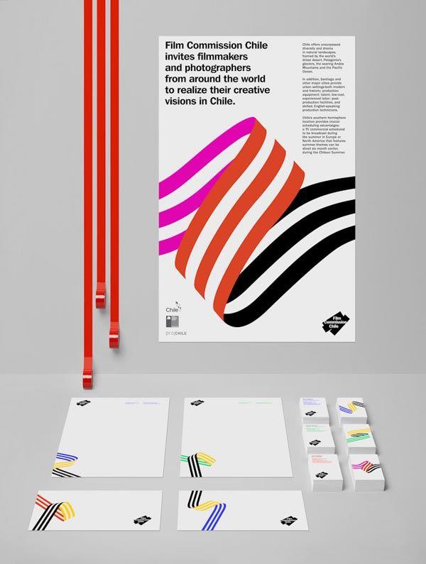 Film Commission Chile – Visual Identity Design by Hey Studio
