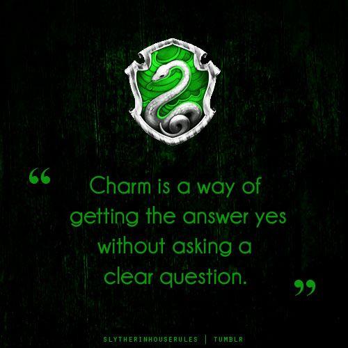 Slytherin charm