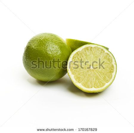 Lime on white background by SirChopin, via Shutterstock