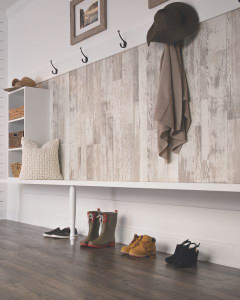 Laminate Flooring On Walls, Laminate Wall Installation | Mohawk Flooring