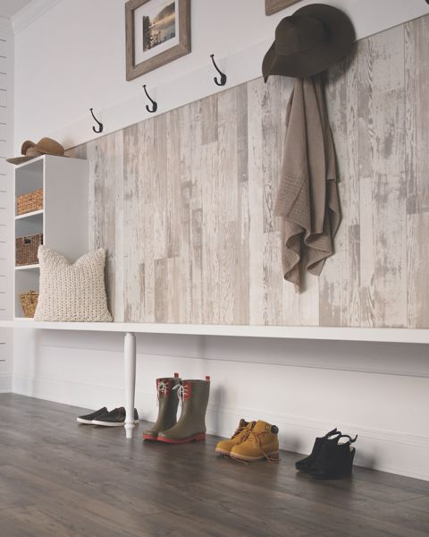 Laminate Accent Wall : Best ideas about laminate flooring on walls