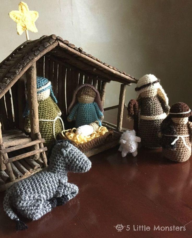 Crochet Nativity Scene Free Pattern