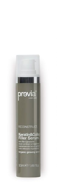 Previa Haircare – Made in Italy | Keratin & Collagen Hair Filler System