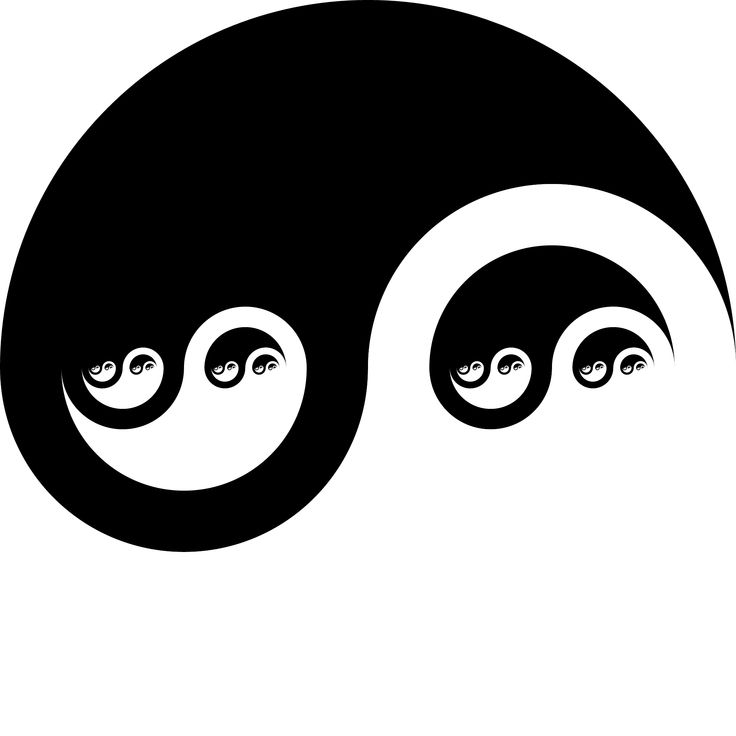 Fractal Yin-Yang