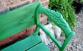 chairs made into benches
