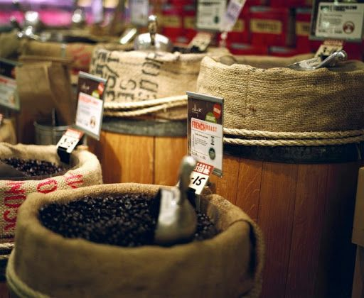 Bolsas reutilizables para comprar alimentos a granel