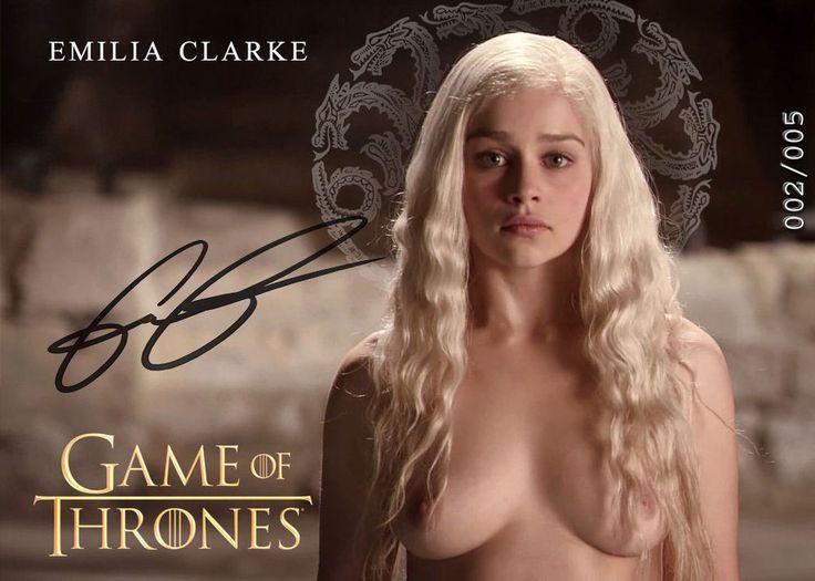 Daenerys Targaryen Emilia Clarke Game of Thrones 2x Sexy ELITE PACK AutoRepro