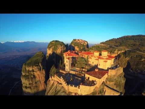 Meteora - Six Monasteries on the rocks a breathless video | Smile Greek