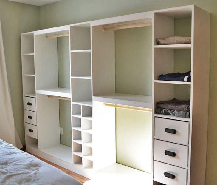 Tower Based Master Closet System In 2020 Diy Closet System Bedroom Organization Closet Closet System