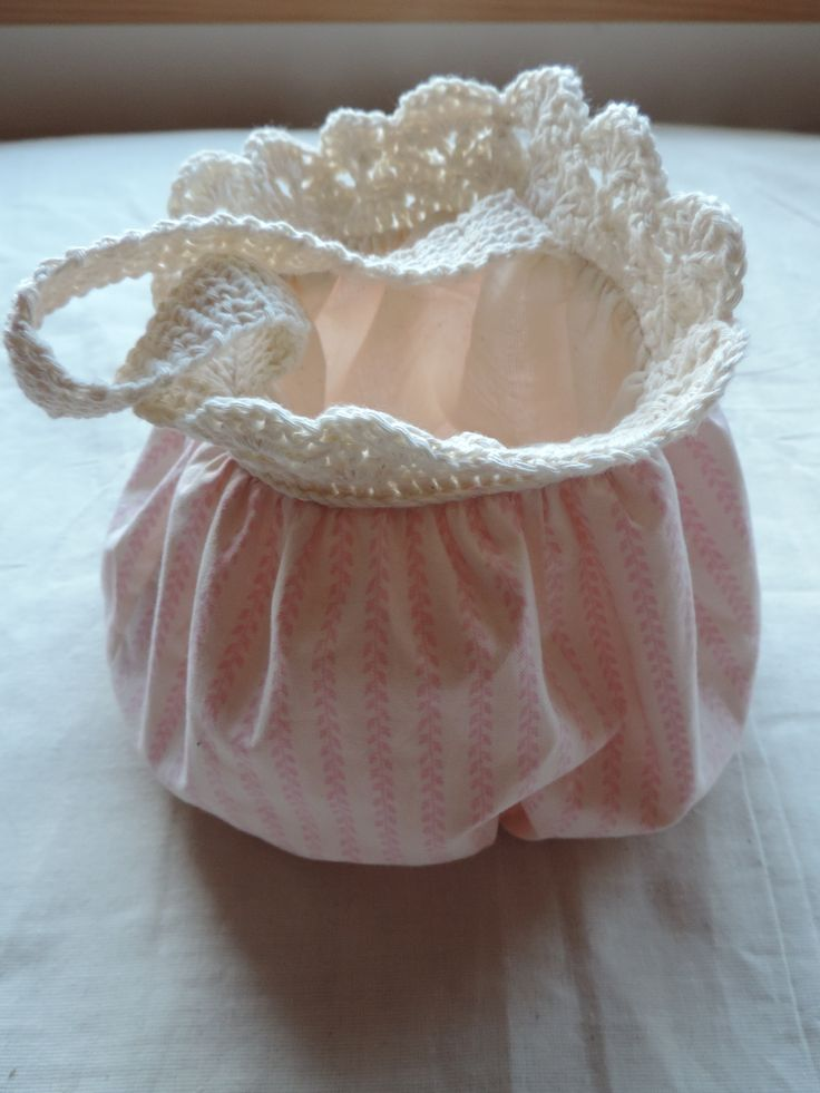 shabby mini bag for young ladies :D 100% cotton