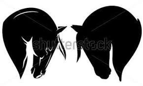 Resultado de imagen para silueta herradura de caballo