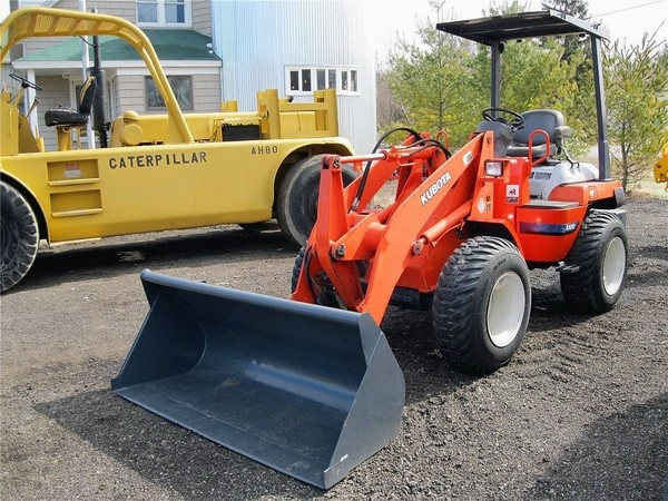 Used Kubota Tractor Wheel : Best images about asphalt paving rigs on pinterest