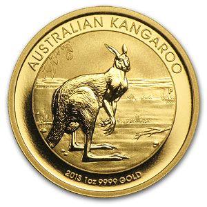 Buy Gold Online | Buy 2013 1 oz Australian Gold Kangaroo Coins | APMEX.com