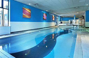Hilton Hotel London Stansted Airport indoor swimming pool