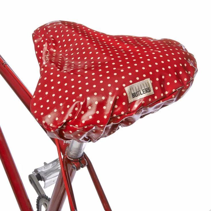 PRETTY COAT pöttyös kerékpáros üléshuzat
