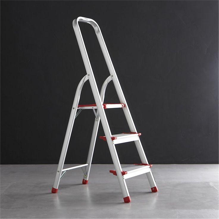 Polder ® 3-Step Ladder  | Crate and Barrel