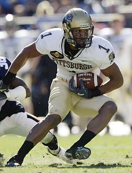 Pitt football + Larry Fitzgerald = best football EVER!