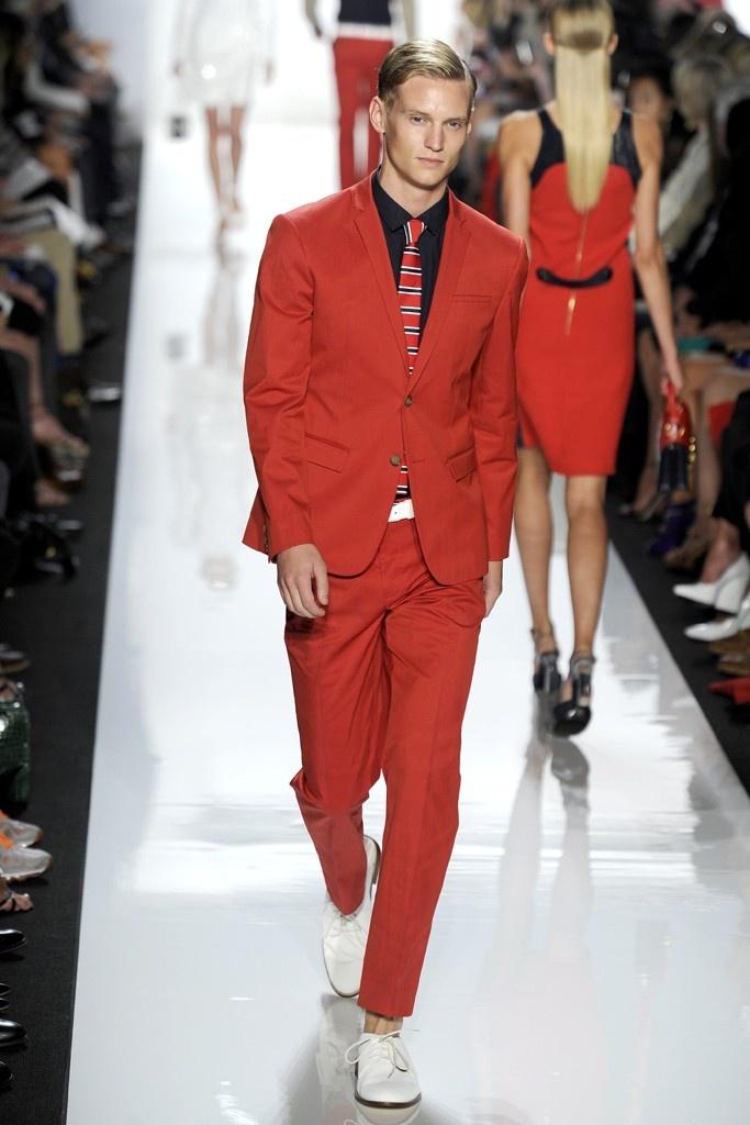 Michael Kors RTW Spring 2013.Mk Red, Kors Menss, Kors Rtw, Spring Summer, Men Fashion, Rate Red, Red Suits, Menss 2013, Michael Kors Men