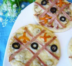 Детские мини-пиццы. Пошаговый рецепт с фото на Gastronom.ru