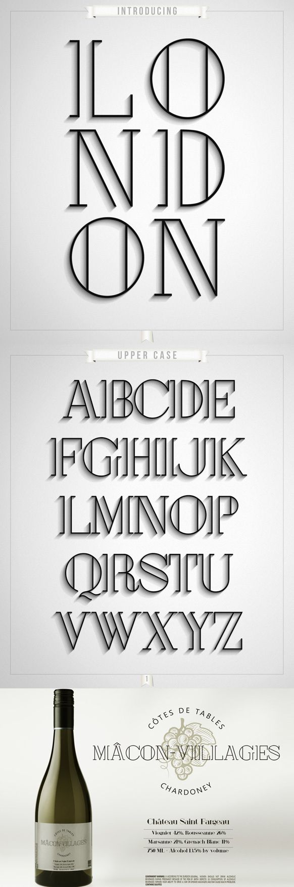 London - Free Typeface                                                                                                                                                                                 Plus