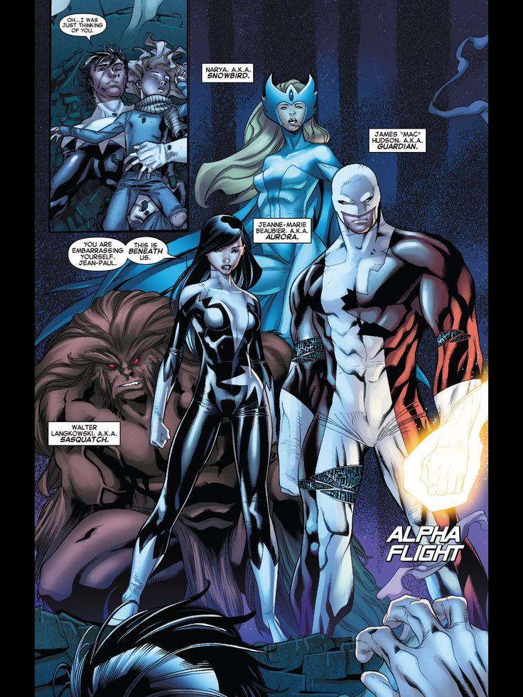 AMAZING X-Men #10 World War Wendigo Wolverine Storm Nightcrawler Colossus Rachel Summers Firestar Northstar ALPHA FLIGHT Aurora Puck Talisman Guardian Snowbird Sasquatch Shaman Marrina