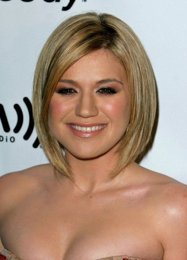Hairstyles For Chubby Faces Extraordinary 20 Best Hairstyles For Fat Women  Pinterest  Fat Face Long Bob