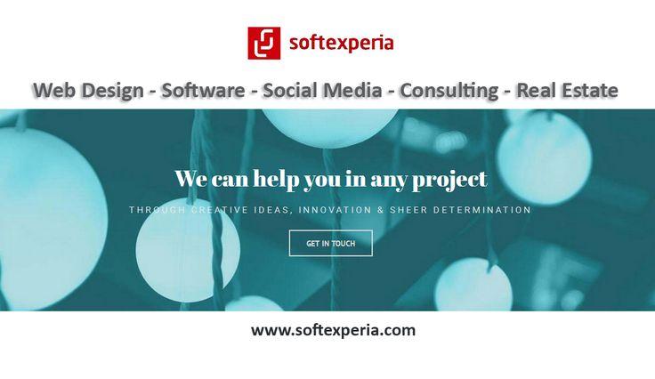 Μπορούμε να σας βοηθήσουμε να επιτύχετε τους στόχους σας.  Επικοινωνήστε σήμερα μαζί μας.  Tel. : 2610 327319 Mob. : 6945 849400 Email : info@softexperia.com  #softexperia | www.softexperia.com