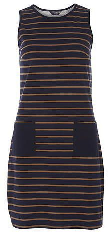 Dorothy Perkins Tall Stripe Pocket Shift Dress