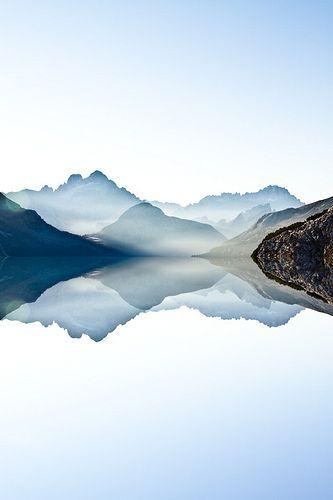 The Lake [Italy, Dolomites] by acosmichippo