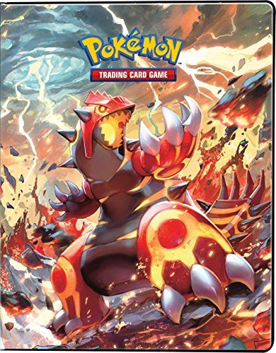 Ultra-Pro Pokemon Card Binder featuring Mega Groudon and Mega Kyogre from Primal Clash (9-Pocket Album/Portfolio Holds 90-180 Cards) Ultra Products http://www.amazon.com/dp/B00SBXH9AW/ref=cm_sw_r_pi_dp_zFkMvb0CACSEB