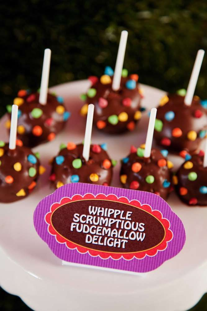Willy Wonka and the Chocolate Factory Birthday Party Ideas | Photo 1 of 13