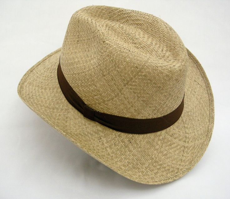 Medium-Brimmed Light-Brown Uni-Sex Aguadeno Hat - Bacano Bags and Hats