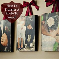 Making a wood transfer is actually pretty simple!  First, you will need to gather all of the supplies you need.. A flat and smooth piece of wood that you would like the picture to be transferred to (I got mine at Hobby Lobby for about $2.) Mod Podge (Glossy Mod Podge gives it nice glossed …