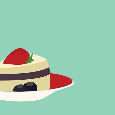 heges visuelle design: bake kake søte!