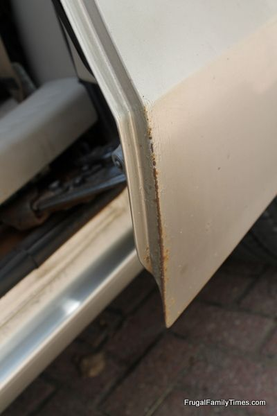 DIY Rust Removal: Make Your Beater Better! | Frugal Family Times
