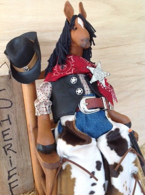 Cloth Doll E-Pattern Western Dressed Cowboy by FruitfullHands