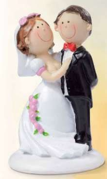 Wedding Topper - Cute Couple - 4.95EUR - Craft Heaven : Craft supplies, Cakeware, Crystals & Angels