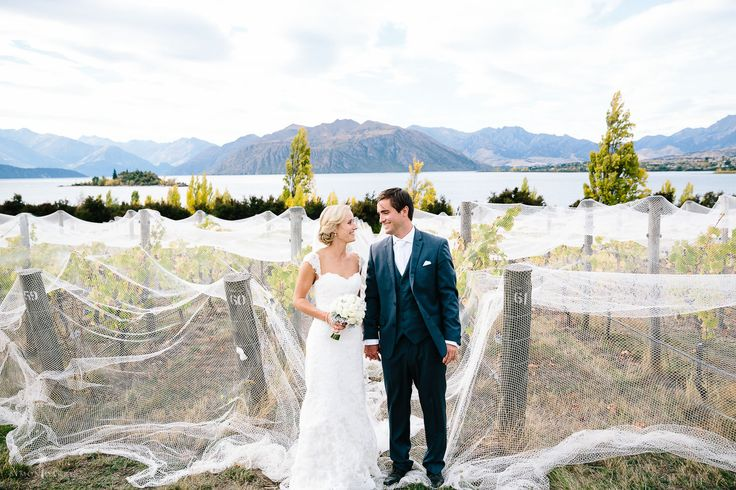 Just married amongst the vines, at Rippon
