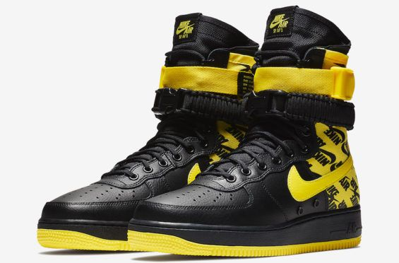 sports shoes 7b63e 38924 Official Images  Nike SF-AF1 High Dynamic Yellow The Nike SF-AF1 High