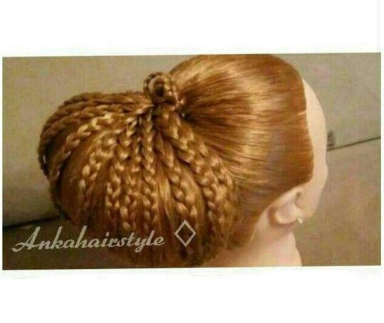 Ankahairstyle Weddinghair gala hair