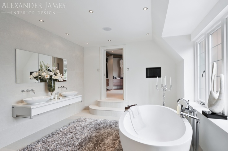 #Elegance, #beauty, #luxury...this bathroom has it all. #interiordesign #bathroom #home