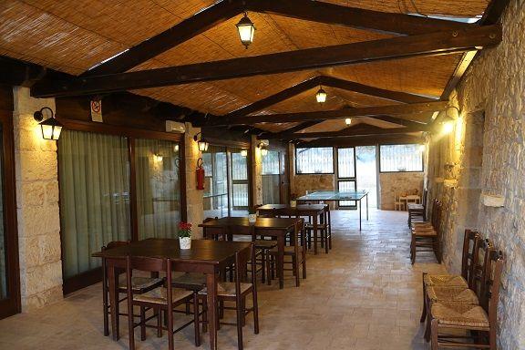 l'Area comune: tavolo da ping-pong ed angolo bimbi. #trullipanoramici