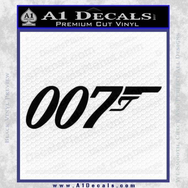 007 decal sticker james bond official logo