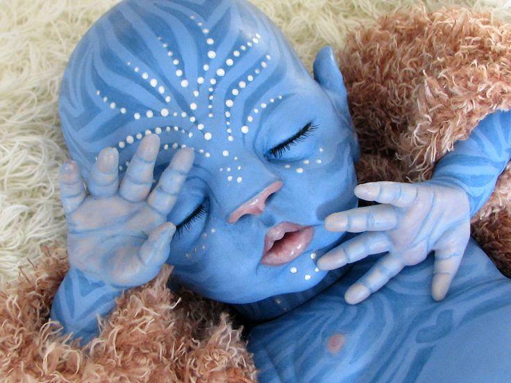 Navi Avatar Style Reborn Baby By Little Liesign Little