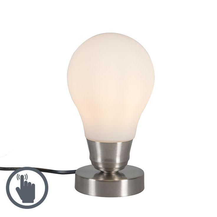 Tischleuchte Luce weiß Touch Jetzt bestellen unter: https://moebel.ladendirekt.de/lampen/tischleuchten/beistelltischlampen/?uid=8bca9bd8-ed92-5f84-ac15-dafebfae3704&utm_source=pinterest&utm_medium=pin&utm_campaign=boards #lampen #tischleuchten #modern #beistelltischlampen Bild Quelle: www.lampenundleuchten.de